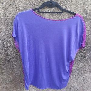 Mossimo Supply Co. Tops - Mossimo pink and purple shirty